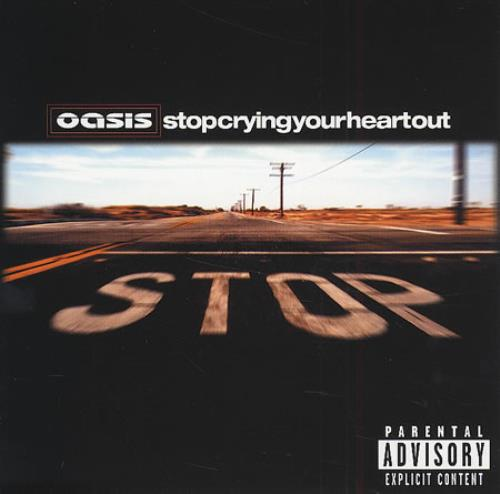 Oasis Stop Crying Your Heart Out CD/DVD single set UK OASSDST216301