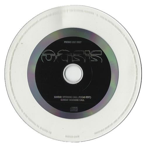 "Oasis Sunday Morning Call CD single (CD5 / 5"") UK OASC5SU158900"