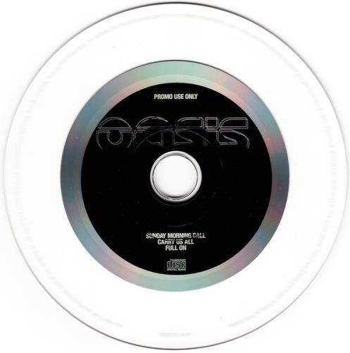 "Oasis Sunday Morning Call CD single (CD5 / 5"") UK OASC5SU159040"
