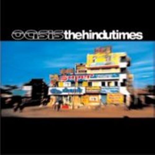 "Oasis The Hindu Times - Austrian 2 Track CD single (CD5 / 5"") Austrian OASC5TH253421"