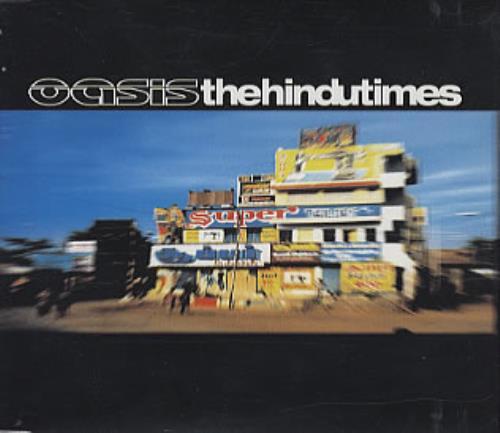 Oasis The Hindu Times CD/DVD single set UK OASSDTH209756