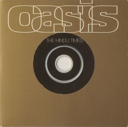 "Oasis The Hindu Times CD single (CD5 / 5"") UK OASC5TH210575"