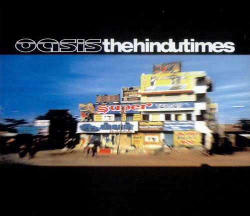 "Oasis The Hindu Times CD single (CD5 / 5"") UK OASC5TH239585"