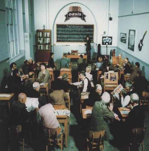 Oasis The Masterplan - 180gm Vinyl 2-LP vinyl record set (Double Album) UK OAS2LTH755015