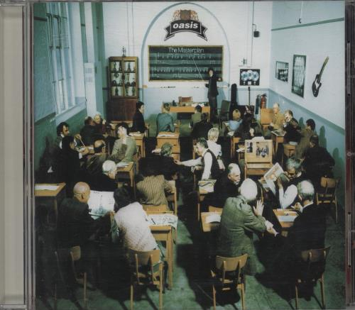 Oasis The Masterplan - Original Issue CD album (CDLP) UK OASCDTH287110