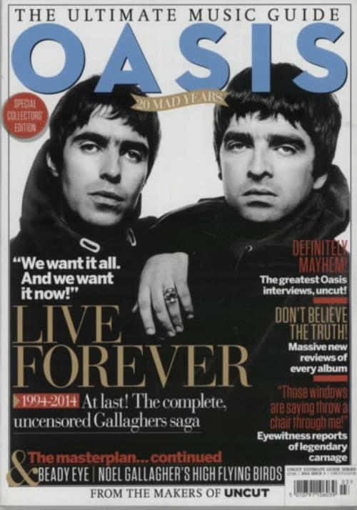 Oasis The Ultimate Music Guide magazine UK OASMATH601646