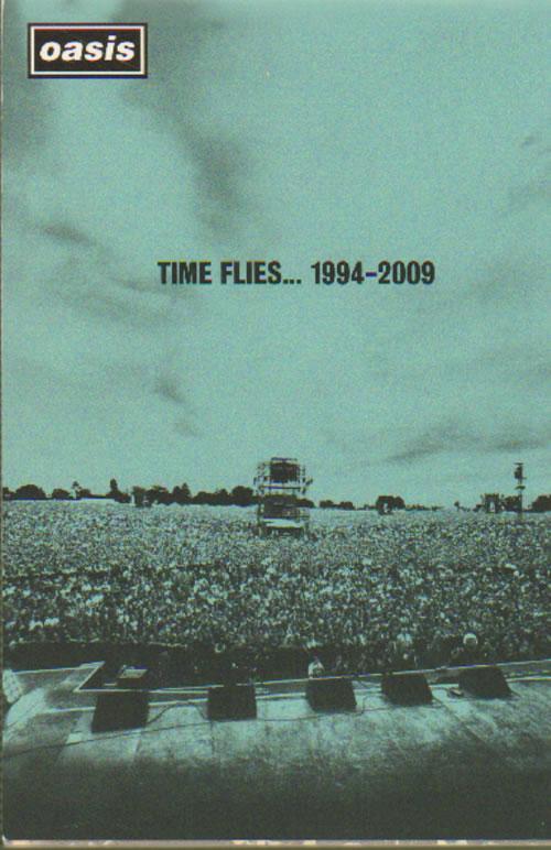 Oasis Time Flies 1994-2009 Notepad memorabilia UK OASMMTI641437