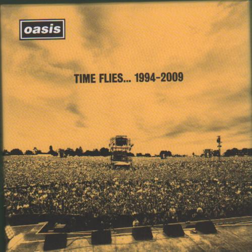 Oasis Time Flies... 1994 - 2009 3-disc CD/DVD Set UK OAS3DTI675794