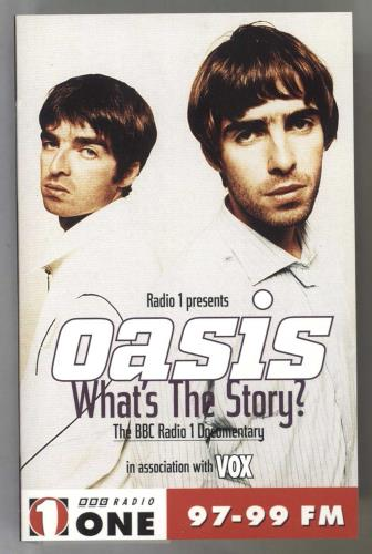 Oasis What's The Story? cassette album UK OASCLWH262597