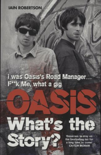 Oasis What's The Story? book UK OASBKWH661238