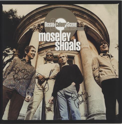 Ocean Colour Scene Moseley Shoals: 20th Anniversary - Autographed tour programme UK OCSTRMO750566