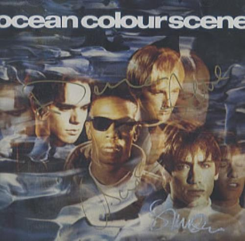 Ocean Colour Scene Ocean Colour Scene CD album (CDLP) UK OCSCDOC323195