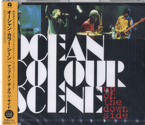 "Ocean Colour Scene Up On The Down Side - Sealed CD single (CD5 / 5"") Japanese OCSC5UP190568"