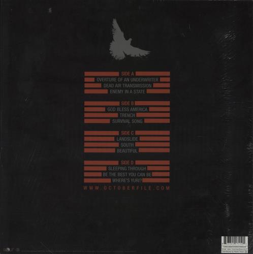 October File A Long Walk On A Short Pier - White Vinyl 2-LP vinyl record set (Double Album) UK 14Z2LAL754461
