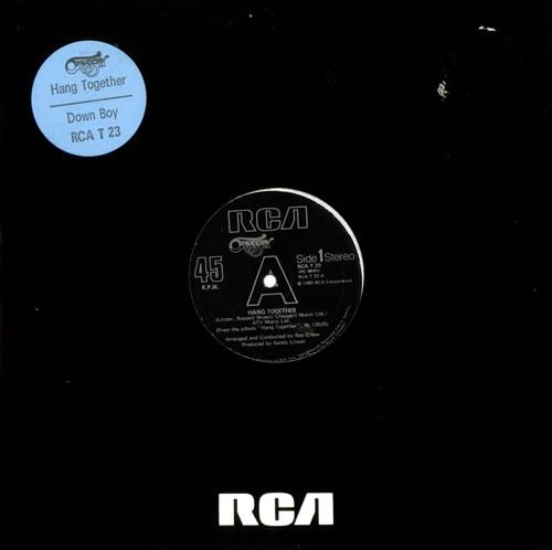 "Odyssey Hang Together 12"" vinyl single (12 inch record / Maxi-single) UK ODY12HA516097"