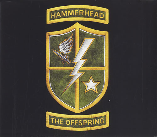 "Offspring Hammerhead CD single (CD5 / 5"") US OFFC5HA457784"