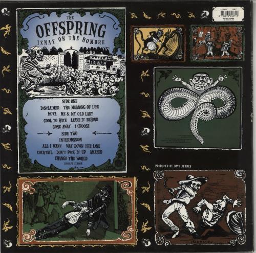 Offspring Ixnay On The Hombre vinyl LP album (LP record) UK OFFLPIX765409