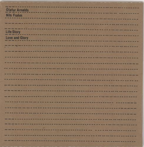 "Olafur Arnalds Life Story Love And Glory - Sealed 7"" vinyl single (7 inch record) UK OMV07LI767157"