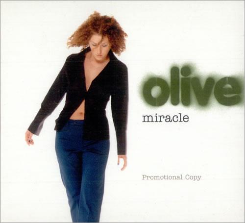 "Olive Miracle CD single (CD5 / 5"") UK OLVC5MI509866"