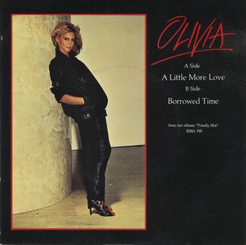 "Olivia Newton John A Little More Love - P/S 7"" vinyl single (7 inch record) UK ONJ07AL116602"