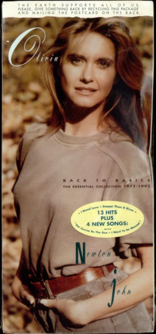 Olivia Newton John Back To Basics - The Essential Collection 1971-1992 CD album (CDLP) US ONJCDBA522437