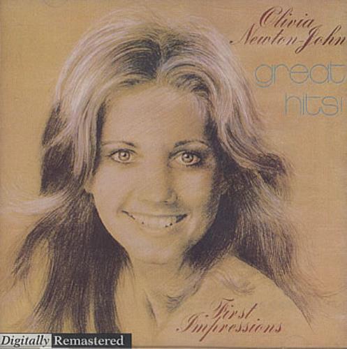 Olivia Newton John Great Hits CD album (CDLP) Australian ONJCDGR22620