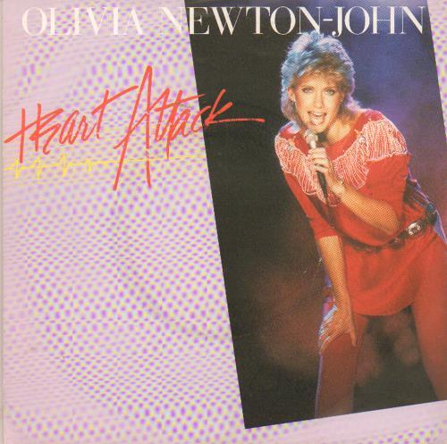"Olivia Newton John Heart Attack - Picture sleeve - Factory Sample 7"" vinyl single (7 inch record) UK ONJ07HE649082"
