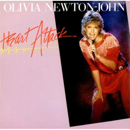 """Olivia Newton John Heart Attack 7"""" vinyl single (7 inch record) Italian ONJ07HE414343"""