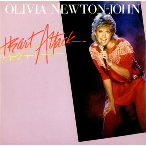 "Olivia Newton John Heart Attack 7"" vinyl single (7 inch record) German ONJ07HE45191"
