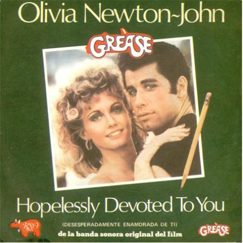 Olivia Newton John Hopelessly Devoted To You Spanish 7