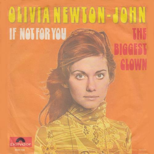 "Olivia Newton John If Not For You - EX 7"" vinyl single (7 inch record) German ONJ07IF67079"