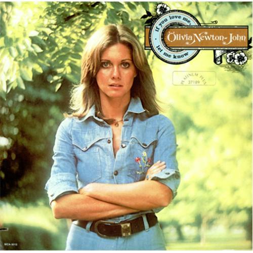 Olivia Newton John If You Love Me, Let Me Know - Platinum Plus vinyl LP album (LP record) US ONJLPIF413345