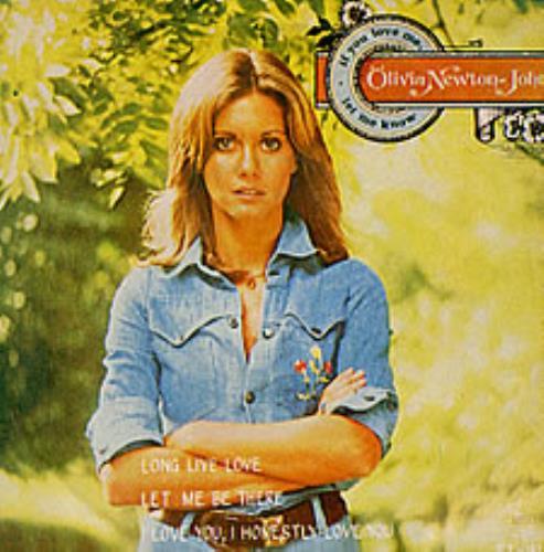 "Olivia Newton John If You Love Me, Let Me Know 7"" vinyl single (7 inch record) Thailand ONJ07IF215144"