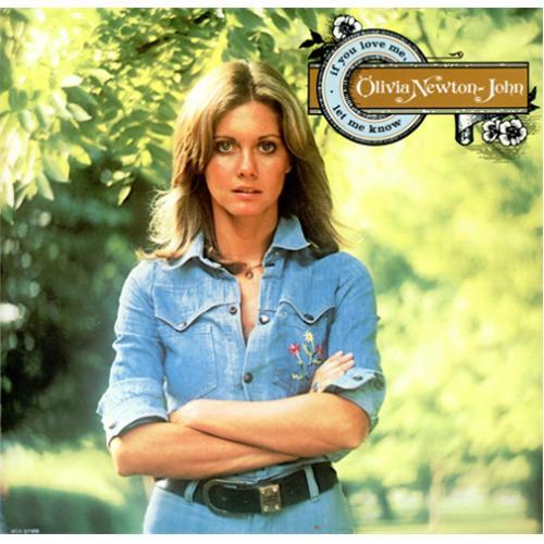Olivia Newton John If You Love Me, Let Me Know vinyl LP album (LP record) US ONJLPIF413347