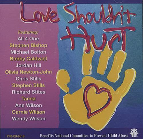 """Olivia Newton John Love Shouldn't Hurt CD single (CD5 / 5"""") US ONJC5LO141123"""