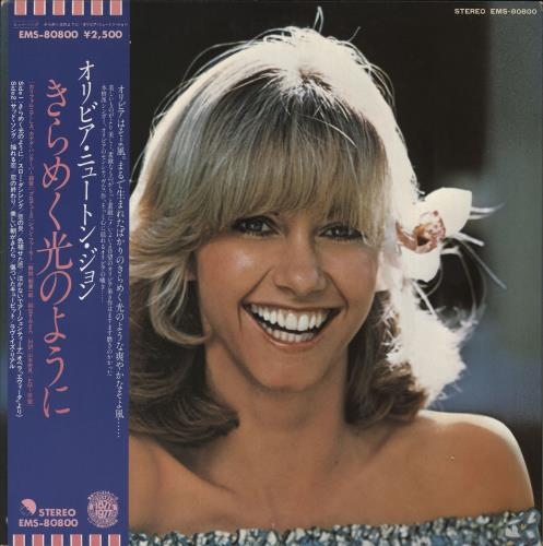 Olivia Newton John Making A Good Thing Better - Regular Obi + Insert vinyl LP album (LP record) Japanese ONJLPMA723484