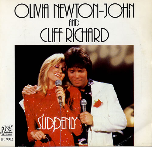 "Olivia Newton John Suddenly 7"" vinyl single (7 inch record) UK ONJ07SU71449"