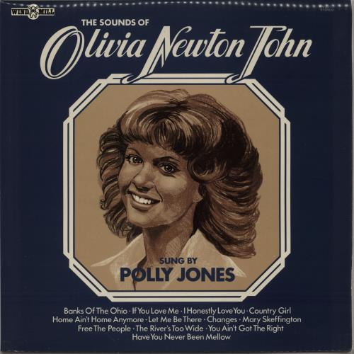 Olivia Newton John The Sounds Of Olivia Newton John vinyl LP album (LP record) UK ONJLPTH763165