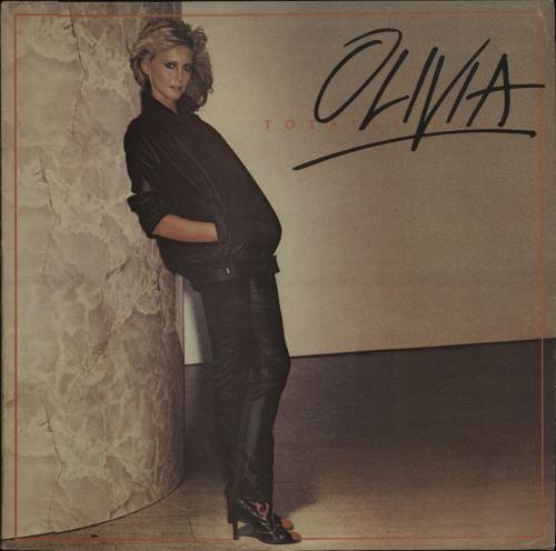 Olivia Newton John Totally Hot vinyl LP album (LP record) UK ONJLPTO34154