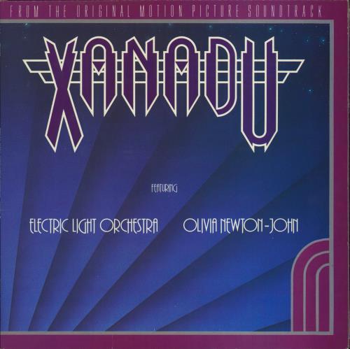 Olivia Newton John Xanadu + Postcards vinyl LP album (LP record) UK ONJLPXA53428