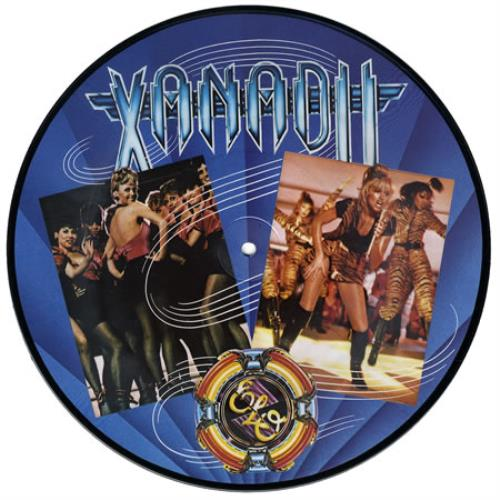 "Olivia Newton John Xanadu 10"" Vinyl Picture Disc (10"" Record Single) US ONJ1PXA390057"