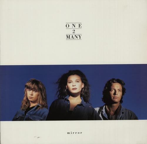 One 2 Many Mirror vinyl LP album (LP record) UK OTMLPMI117577