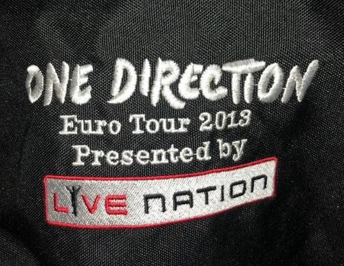 One Direction Euro Tour 2013 memorabilia UK OO5MMEU729425