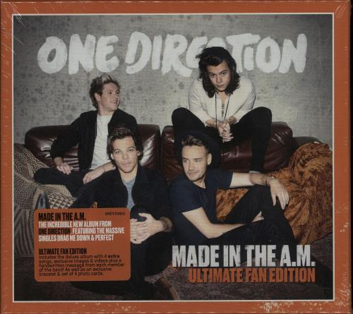 One Direction Made In The A.M. - Ultimate Fan Edition - Special Edition CD album (CDLP) UK OO5CDMA644782