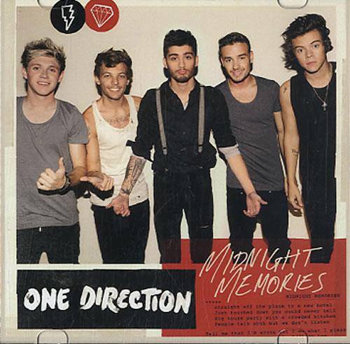 One Direction Midnight Memories CD-R acetate Japanese OO5CRMI608361