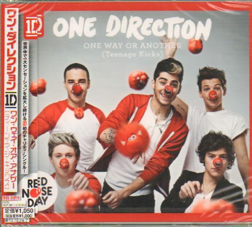 "One Direction One Way Or Another (Teenage Kicks) CD single (CD5 / 5"") Japanese OO5C5ON640627"