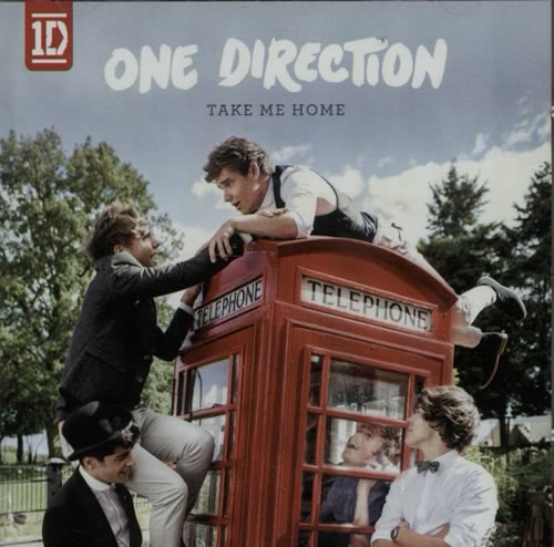One Direction The Studio Albums CD album (CDLP) UK OO5CDTH632582