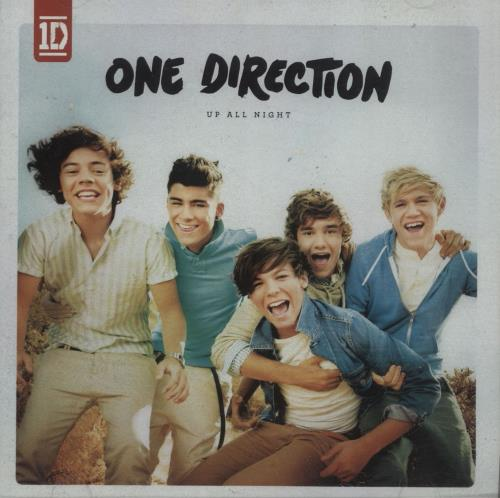 One Direction Up All Night CD album (CDLP) UK OO5CDUP656245