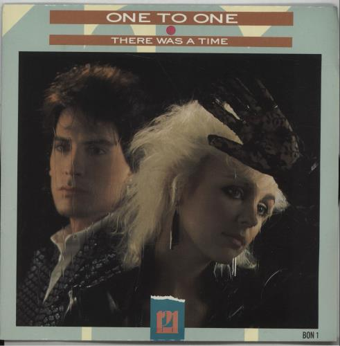 "One To One There Was A Time 7"" vinyl single (7 inch record) UK OZJ07TH672537"
