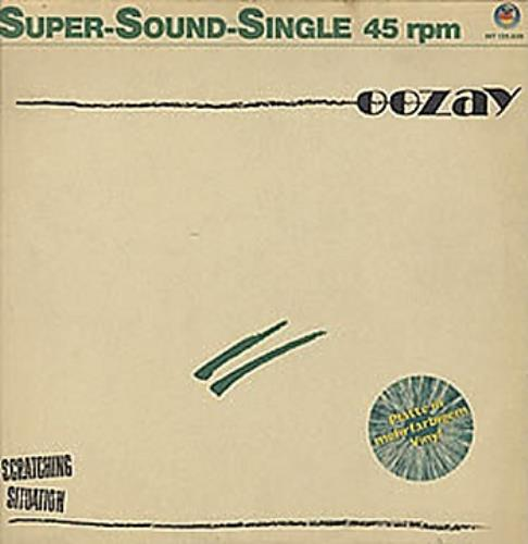 """Oozay Scratching Situation - Green Marble 12"""" vinyl single (12 inch record / Maxi-single) German OAZ12SC323809"""